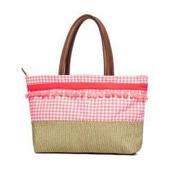 Torba plażowa Maracas z kolekcji Phax. Białe torby plażowe marki Astratex, ze skóry ekologicznej. Za 144,79 zł.