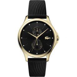Lacoste - Zegarek Kea 2001052. Czarne zegarki damskie Lacoste, szklane. Za 989,90 zł.