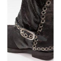 A.S.98 Kowbojki i Buty motocyklowe nero. Czarne buty zimowe damskie marki A.S.98, z materiału. W wyprzedaży za 983,20 zł.
