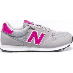 New Balance - Buty. Szare buty sportowe damskie New Balance, z materiału. W wyprzedaży za 199,90 zł.
