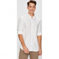 Tommy Hilfiger - Koszula. Szare koszule męskie na spinki marki S.Oliver, l, z bawełny, z włoskim kołnierzykiem, z długim rękawem. Za 299,90 zł.