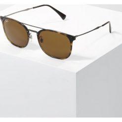 RayBan Okulary przeciwsłoneczne havana dark brown. Szare okulary przeciwsłoneczne damskie lenonki marki Ray-Ban, z materiału. Za 839,00 zł.