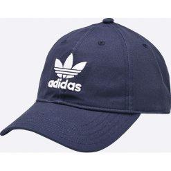 Adidas Originals - Czapka. Szare czapki z daszkiem męskie marki adidas Originals, z gumy. Za 79,90 zł.