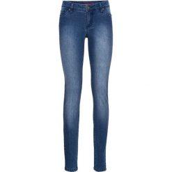 """Dżinsy SKINNY bonprix niebieski """"stone"""". Niebieskie jeansy damskie skinny marki House, z jeansu. Za 59,99 zł."""