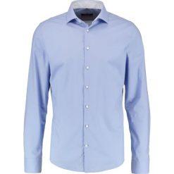 Koszule męskie na spinki: Seidensticker SLIM SPREAD KENT PATCH Koszula biznesowa hellblau