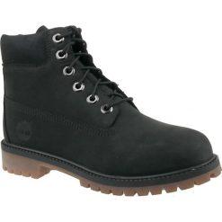 Timberland 6 In Premium Boot A14ZO. Czarne buty trekkingowe damskie Timberland, na zimę. W wyprzedaży za 449,99 zł.