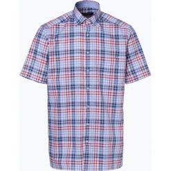 Koszule męskie: Andrew James – Koszula męska niewymagająca prasowania, czerwony