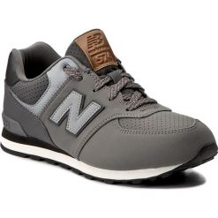 Sneakersy NEW BALANCE - KL574YHG Szary. Szare trampki chłopięce New Balance, z materiału, na sznurówki. W wyprzedaży za 209,00 zł.