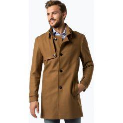 Finshley & Harding London - Płaszcz męski – Crumble, beżowy. Brązowe płaszcze na zamek męskie Finshley & Harding London, m, z wełny, eleganckie. Za 999,95 zł.