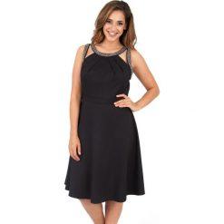 Sukienki hiszpanki: Sukienka do kolan, bez rękawów