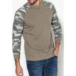 Bluza z okrągłym dekoltem. Brązowe kardigany męskie La Redoute Collections, l, z bawełny, z długim rękawem, długie. Za 146,96 zł.