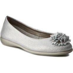 Baleriny damskie lakierowane: Baleriny THE FLEXX - Mrs Flower B226/17 Silver