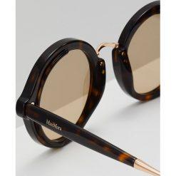 Max Mara NEEDLE VIII Okulary przeciwsłoneczne havana. Brązowe okulary przeciwsłoneczne damskie aviatory Max Mara. Za 949,00 zł.