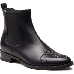 Sztyblety GINO ROSSI - Nevia DSI144-G12-E100-9900-0 99. Czarne buty zimowe damskie Gino Rossi, ze skóry, na obcasie. Za 579,90 zł.