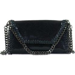 """Torebki klasyczne damskie: Skórzana torebka """"Paige"""" w kolorze czarnym – 25 x 14 x 1 cm"""