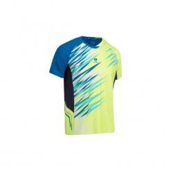 T-shirt badminton, padel, squash, tenis stołowy 860 męski. Żółte t-shirty męskie ARTENGO, m, z elastanu. Za 59,99 zł.