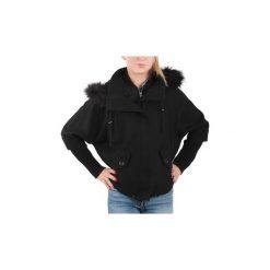 Żakiety / Blezery Guess  Kurtka  14L14W1Q10996. Czarne kurtki damskie Guess, l, z aplikacjami. Za 443,70 zł.
