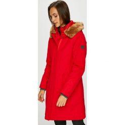 Marc O'Polo - Kurtka. Czerwone kurtki damskie Marc O'Polo, z bawełny, z kapturem. Za 1299,00 zł.