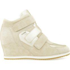 Czółenka: Skórzane buty na koturnie D ILLUSION D