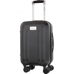 Walizka w kolorze czarnym - 32 l. Czarne walizki Bagstone & Travel One, z materiału. W wyprzedaży za 179,95 zł.