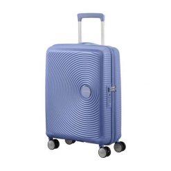 Walizka Spinner Soundbox niebieski dżins (32G-11-001). Niebieskie walizki marki Samsonite. Za 350,92 zł.
