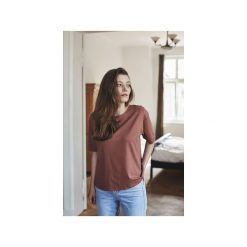 AIMEE KONIAK t-shirt. Brązowe t-shirty damskie Gau great as you, m, z bawełny. Za 139,00 zł.