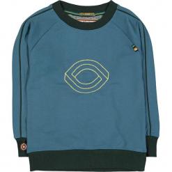 """Bluza """"Evil Eye"""" w kolorze niebiesko-ciemnozielonym. Niebieskie bluzy chłopięce rozpinane 4FunkyFlavours Kids, z nadrukiem. W wyprzedaży za 102,95 zł."""
