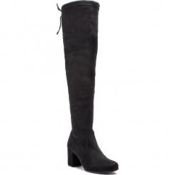 Muszkieterki UNISA - Orega F18 St Black Stre Paris. Czarne buty zimowe damskie marki Unisa, z materiału. W wyprzedaży za 439,00 zł.