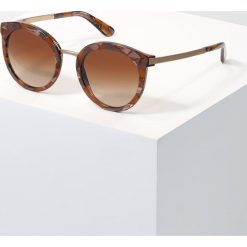 Dolce&Gabbana Okulary przeciwsłoneczne brown. Brązowe okulary przeciwsłoneczne damskie lenonki Dolce&Gabbana. Za 839,00 zł.