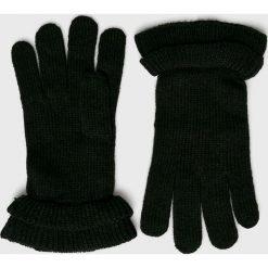 Pieces - Rękawiczki. Czarne rękawiczki damskie Pieces. W wyprzedaży za 39,90 zł.