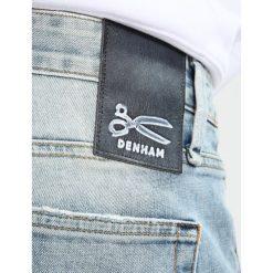 Denham RAZOR Jeansy Slim Fit lightblue denim. Niebieskie jeansy męskie relaxed fit marki Criminal Damage. W wyprzedaży za 411,75 zł.