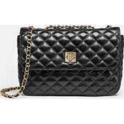 Czarna torebka na ramię. Czarne torebki klasyczne damskie marki B'TWIN, z materiału. Za 699,00 zł.