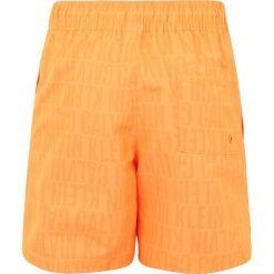 Calvin Klein Swimwear MEDIUM DRAWSTRING Szorty kąpielowe tonic orange pop. Brązowe kąpielówki chłopięce Calvin Klein Swimwear, z materiału. Za 209,00 zł.