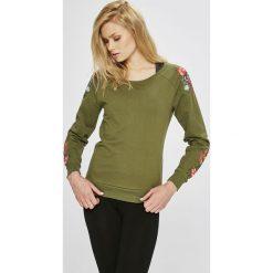Only Play - Bluza Blossom. Brązowe bluzy z nadrukiem damskie marki Only Play, l, z bawełny, bez kaptura. W wyprzedaży za 99,90 zł.
