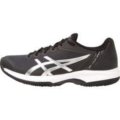 ASICS GELCOURT SPEED CLAY Obuwie do tenisa Outdoor black/silver/white. Czarne buty do tenisa męskie Asics, z materiału. W wyprzedaży za 391,20 zł.