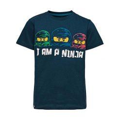 """T-shirty chłopięce z nadrukiem: Koszulka """"M-72163"""" w kolorze granatowym"""