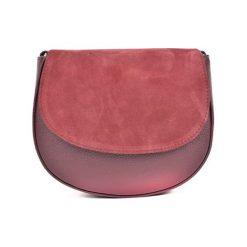 Torebka w kolorze bordowym - (S)22,5 x (W)19 x (G)8 cm. Czerwone torebki klasyczne damskie Bestsellers bags, w paski, z materiału. W wyprzedaży za 199,95 zł.
