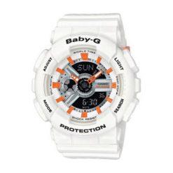 """Zegarki męskie: Zegarek """"BA-110PP-7A2ER"""" w kolorze białym"""