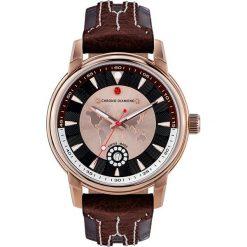 """Zegarki męskie: Zegarek kwarcowy """"Nereus"""" w kolorze brązowo-różowozłotym"""