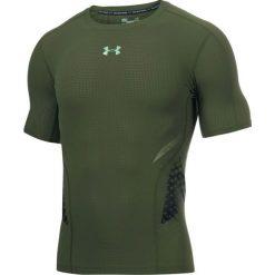 Under Armour Koszulka męska HeatGear® Armour Zone zielona r. M (1289555-330 M). Szare t-shirty męskie marki Under Armour, z elastanu, sportowe. Za 166,14 zł.