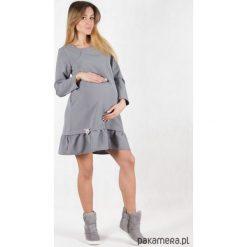Sukienki dziewczęce: Sukienka ciążowa i do karmienia Grey