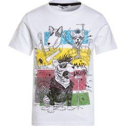 T-shirty chłopięce: Little Marc Jacobs KURZARM  Tshirt z nadrukiem weiss