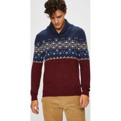 Medicine - Sweter Northern Story. Brązowe swetry klasyczne męskie MEDICINE, l, z bawełny. Za 129,90 zł.