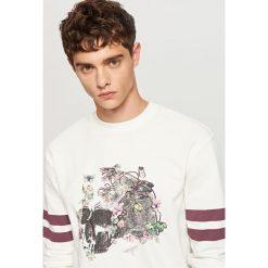 Bluza z nadrukiem - Kremowy - 2
