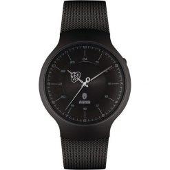Zegarek męski Dressed czarny pleciony pasek. Czarne zegarki męskie Alessi, ze stali. Za 1040,00 zł.