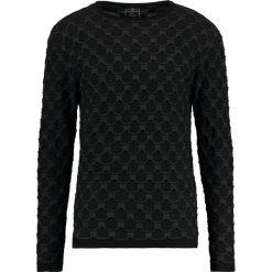 Swetry klasyczne męskie: Key Largo WAVE Sweter black