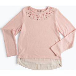 Bluzki dziewczęce: Review - Dziewczęca koszulka z długim rękawem, różowy