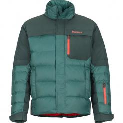 """Kurtka puchowa """"Shadow"""" w kolorze ciemnozielonym. Zielone kurtki męskie puchowe marki Marmot, m, z materiału. W wyprzedaży za 818,95 zł."""