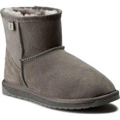 Buty EMU AUSTRALIA - Platinum Stinger Mini WP10003 Charcoal. Szare buty zimowe damskie EMU Australia, ze skóry. Za 679,00 zł.