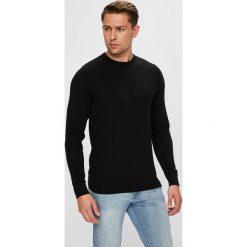 Jack & Jones - Sweter. Szare swetry klasyczne męskie Jack & Jones, m, z bawełny, z okrągłym kołnierzem. W wyprzedaży za 69,90 zł.